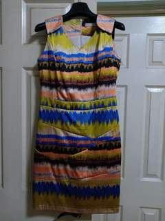 Celine multicolored dress