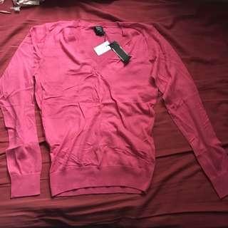 Sasch pink knit top 粉紅色針織上衣