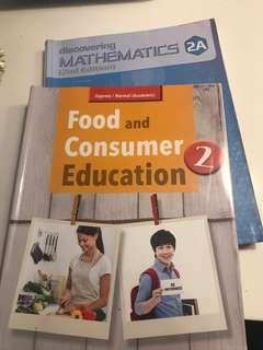 Discovering Mathematics 2A,  Food and Consumer Education 2