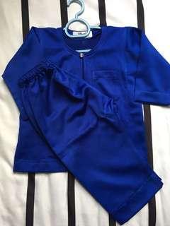 PRELOVED BAK Tailor Baby Baju Melayu