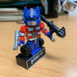 KRE-O Transformer Optimus prime figure block 變形金剛 柯柏文 LEGO-alike