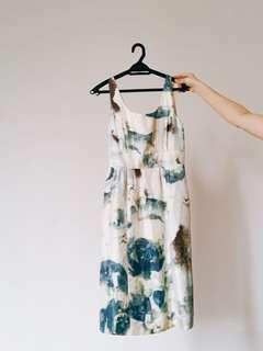 Banana Republic Silk Dress Size 00 (petite)
