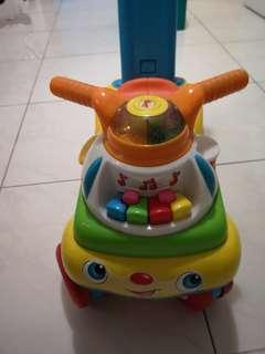 Fisher Price Push Walker with sound