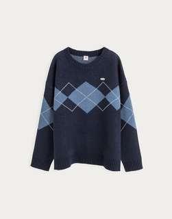 URBAN RESEARCH x PAZZO 類似款 格紋毛衣