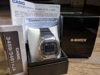 Casio G Shock GMW-B5000 limited edition