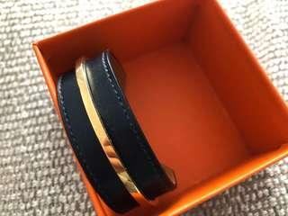 Hermes bracelet cuir binome