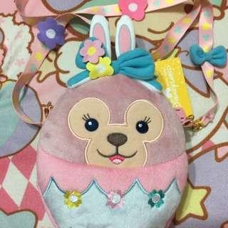 🚚 香港 復活節 雪莉玫 米妮 雙面包 斜背包