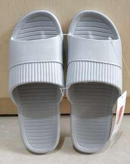 Sandal Slippers Cowok Miniso Original Grey Size 43-44