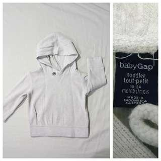 GA104 Baby Gap Hoodie Sweater 18 to 24 Months - VG Condition