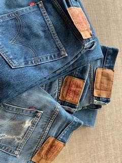 Vintage Levi 501's