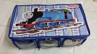 Lemari baju lipat kartun Thomas ( COK)