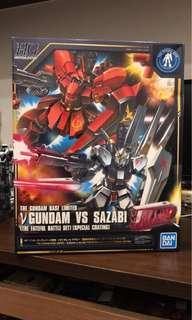 🚚 鋼彈模型 東京限定 逆襲的夏雅30th HG1/144 Nu fundamentalism vs Sazabi