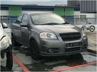 Chevrolet AVEO GRAB/PERSONAL/PRIVATE HIRE CAR RENTAL