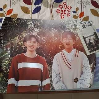 WTS Hyungseop x Euiwoong album poster