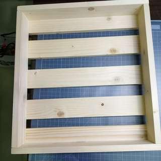 🚚 松木製置物架 小苗圃 展示架  交換禮物