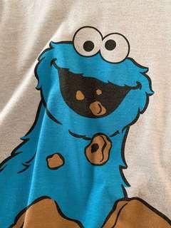 Cookie Monster Tshirt Size S