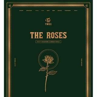 [PREORDER] 트와이스 (TWICE) - TWICE 2019 SEASON'S GREETINGS 'THE ROSES'
