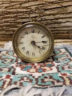 古董 英國小型上鍊枱鐘 Antique Small Desk Clock, Brimingham, UK