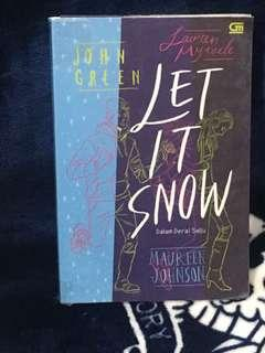 Preloved Novel Let It Snow - John Green,Maureen Johnson, Lauren Myracle