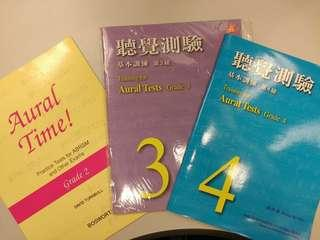 ABRSM 考試書籍 Aural time grade2 聽覺測驗3/4