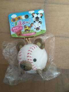 🚚 NIC vintage RARE baseball bear squishy