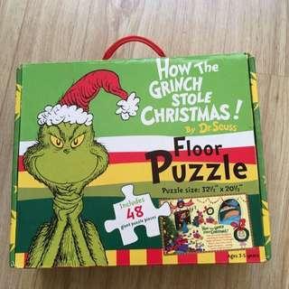 Dr Seuss Floor Puzzle