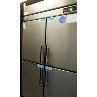 【二手餐飲設備】瑞興 台灣製造 四門管冷 四門半凍藏冰箱 物品在土城區自取