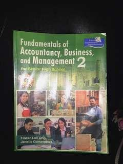 Fundamentals of Accountancy, Business, And Management 2