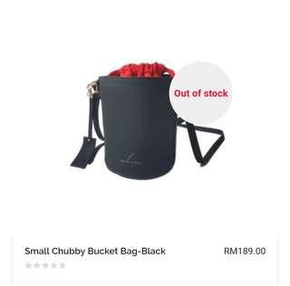 Upstairs In Style Small Chubby Bucket Bag