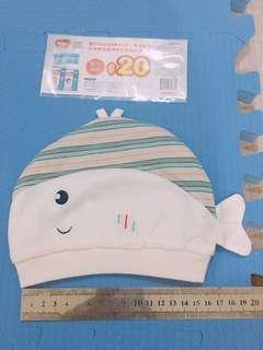 🚚 嬰兒帽子 魚魚 買就送好奇折價卷 全新 #十一月良品半價