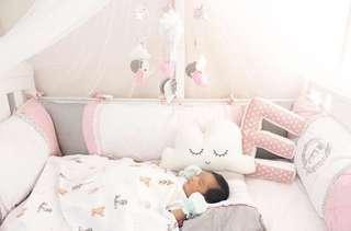 Baby bedding set - bumper set