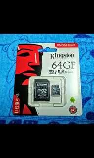 🚚 金士頓64GB記憶卡(原廠正品終身保固)#十一月良品半價