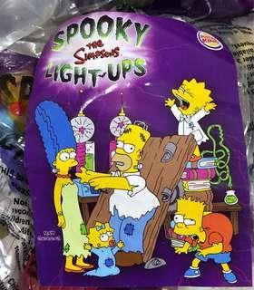 The Simpsons X Burger King 玩具 一套 15個