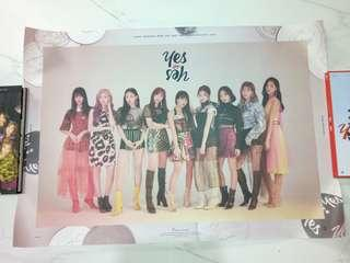 twice yes or yes posters instock
