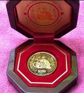 Zodiac Coin - Tiger - 999 Collector's GOLD Series ❤️❤️