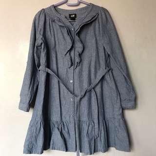 H&m chambray dress