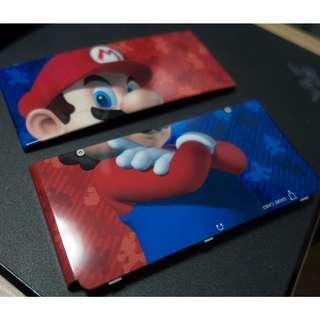 🚚 Super Mario New Nintendo 3DS Cover Mario Bros Kisekae Plate Faceplate