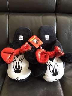 Minnie mouse bedroom slippers (New!)