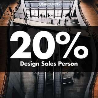 Design Sales Person