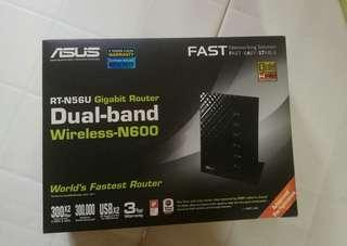 Asus RT-N56U Gigabit Router Dual-band Wireless N600