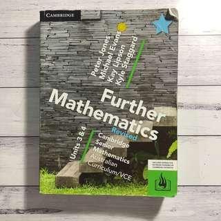 Further Mathematics (Maths) Units 3/4 + bound reference