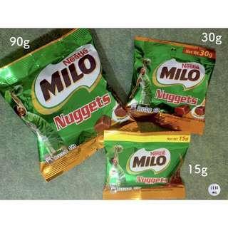 🚚 (15g下單處)🔥現貨秒出🔥15g/30g/90g 美祿巧克力球 milo nuggets