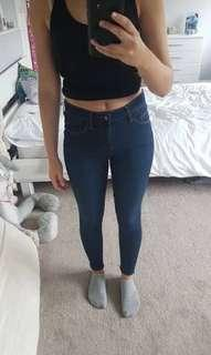 Topshop Leigh Jeans Size 24