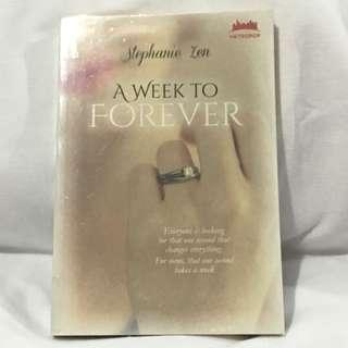 Preloved Novel A week to Forever