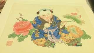 楊柳青年畫