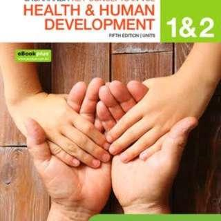 Brand New - Health and Human 5e units 1/2