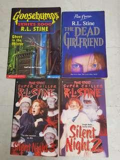 Rl stine book fear street goosebumps the dead girlfriend vintage