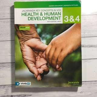 Health and Human Development Units 3/4