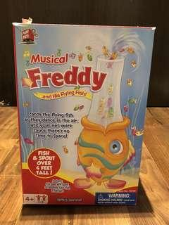 Freddy and the flying fish