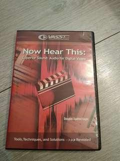 Vasst: Now hear this: audio for digital video dvd